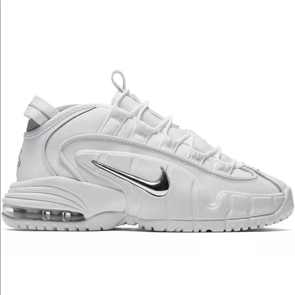 062e661664 Nike Shoes | Air Max Penny Le Gs 315519100 White Silver | Poshmark